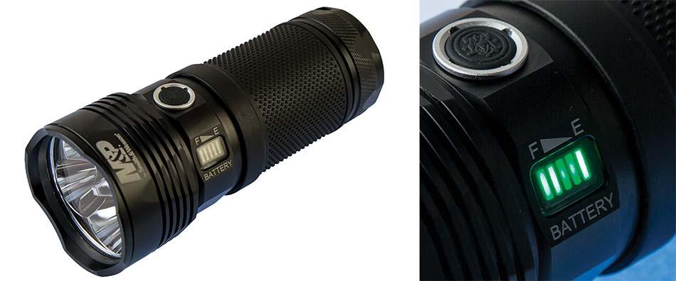 Smith Wesson Duty FS RXP 4x18650 flashlight