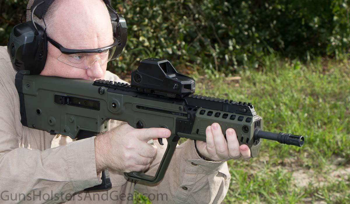 Shooting the IWI X95