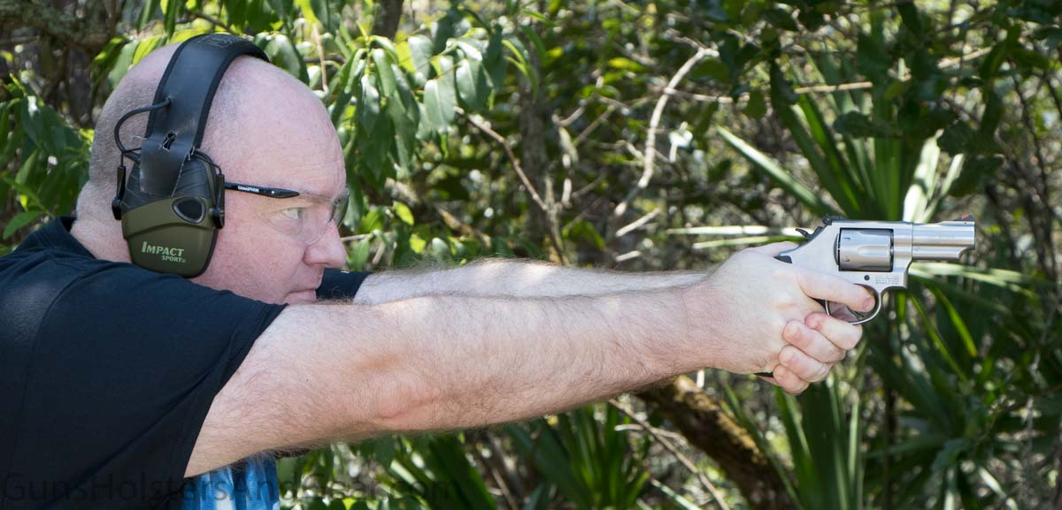 Shooting the Smith Wesson Model 66