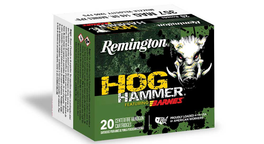 Hog Hammer Handgun Ammo