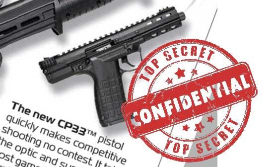 Pistola Kel-Tec CP33
