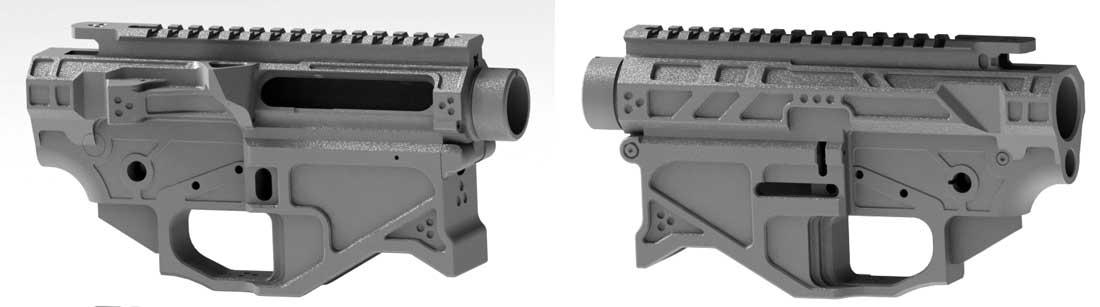 Conjunto de receptor AR10 de quadro pequeno