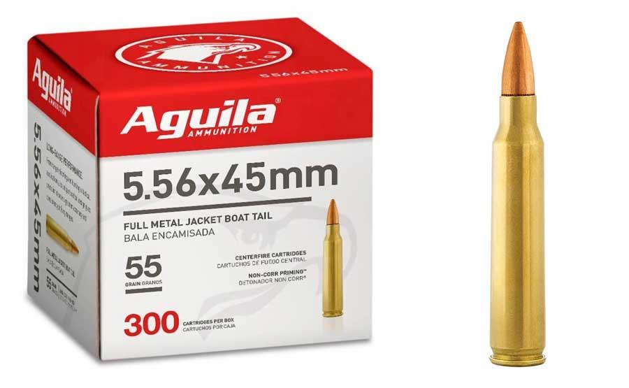 Aguila 5.56 Pacote a granel da NATO