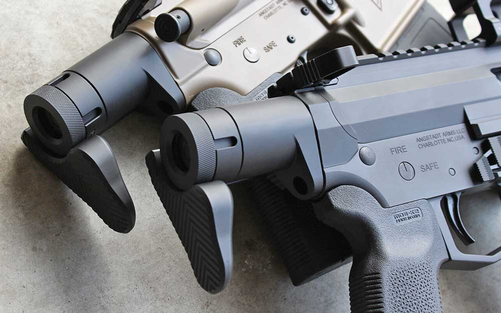 Angstadt Arms Sub Compact Weapon Stock SCW Closed