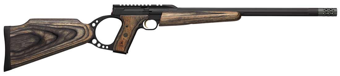 Browning Buck Mark alvo cinza supressor pronto quebra de focinho
