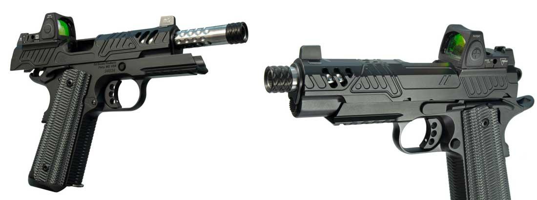 Pistola Ed Brown ZEV Tech 1911