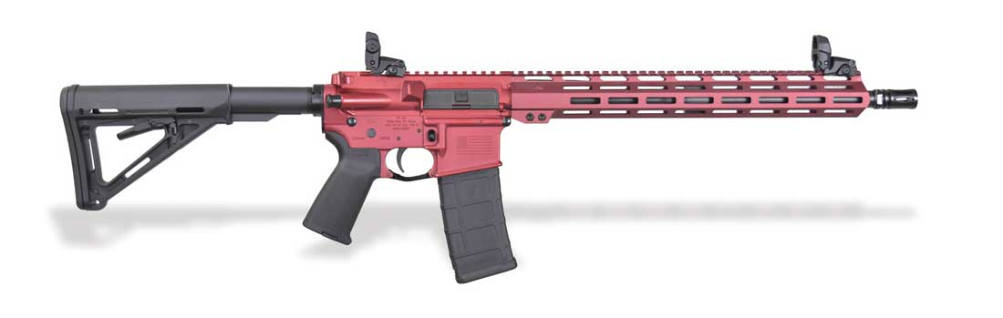 Inter Ordnance Red AR15 at the SHOT Show