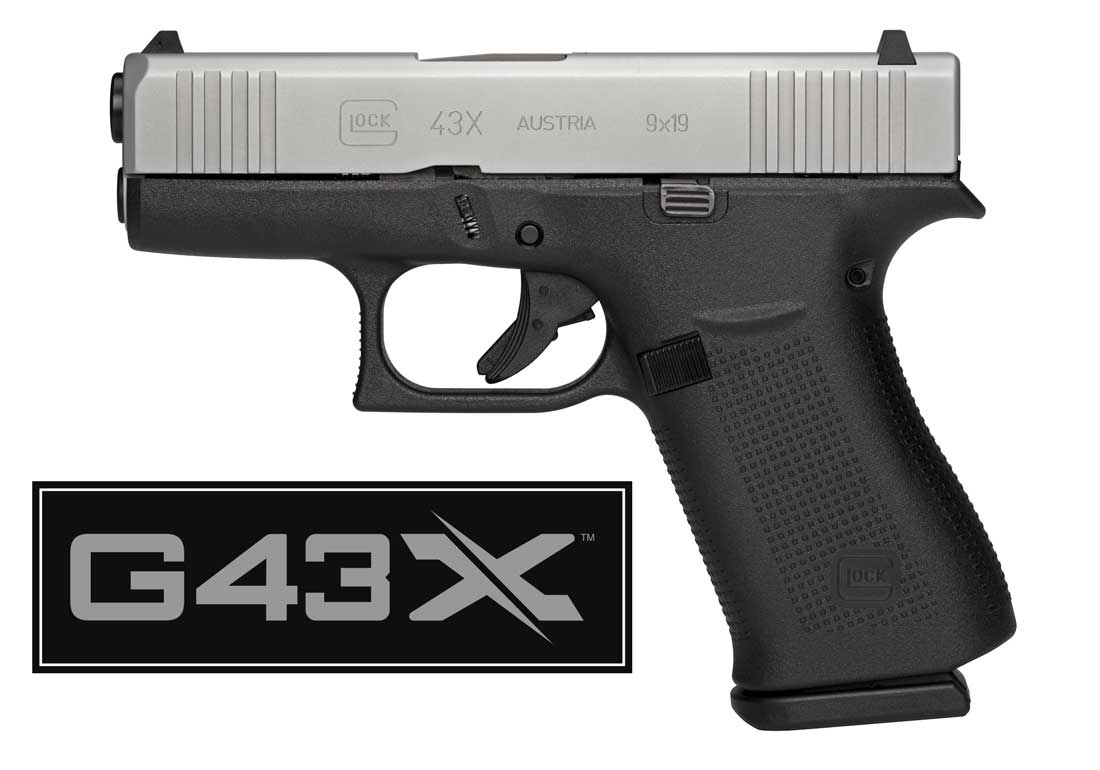 Nova pistola Glock 43X