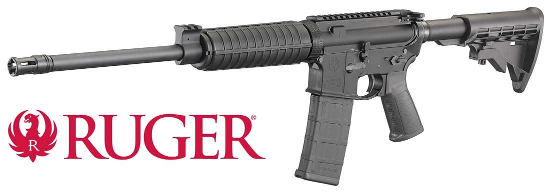 Carabina Óptica Ruger AR556
