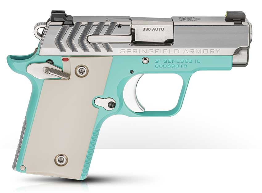 Springfield Armory 911 Pistols in New Colors