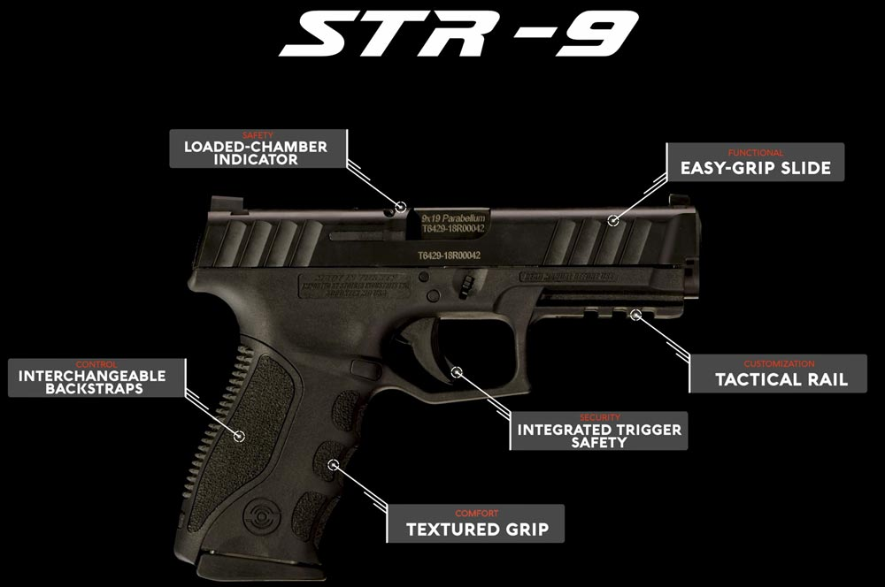 Stoeger STR-9 Features