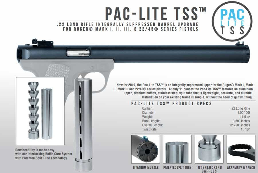 TacSol Pac-Lite TSS Integrally Suppressed Upper