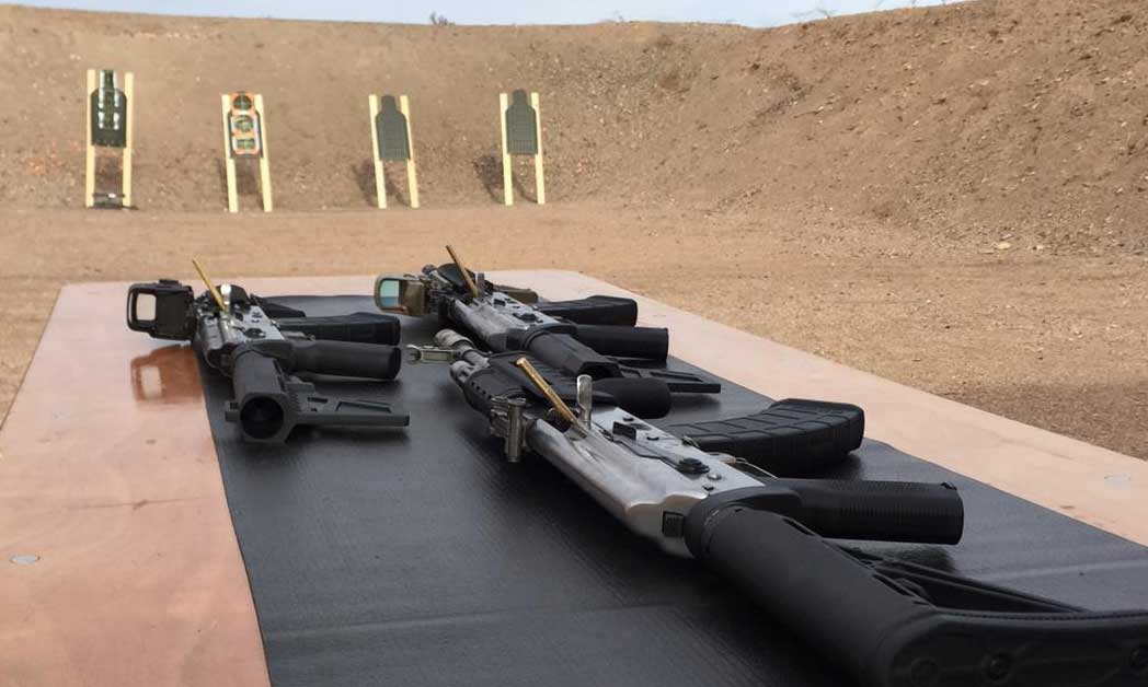 United Defense Corp AK Rifle