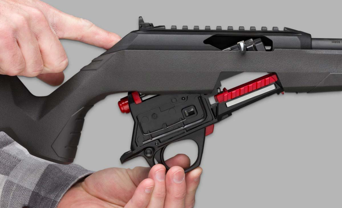 Winchester Wildcat Trigger Assembly