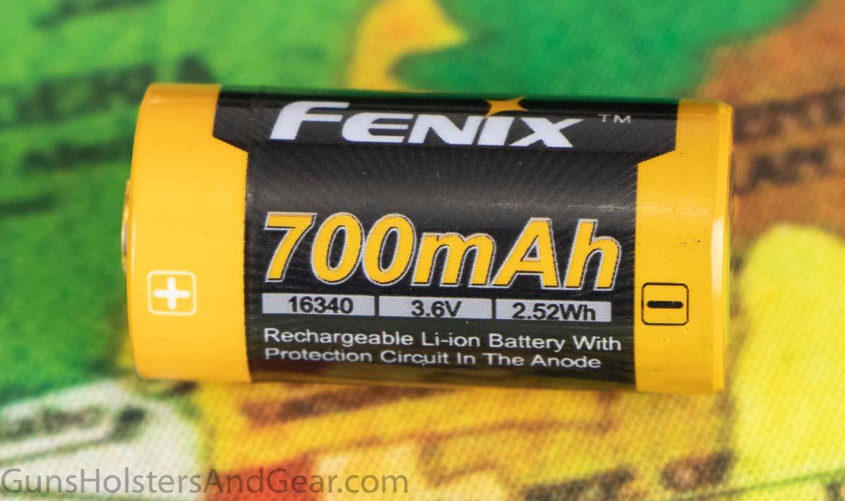 Fenix 16340 Rechargeable Li-ion Battery