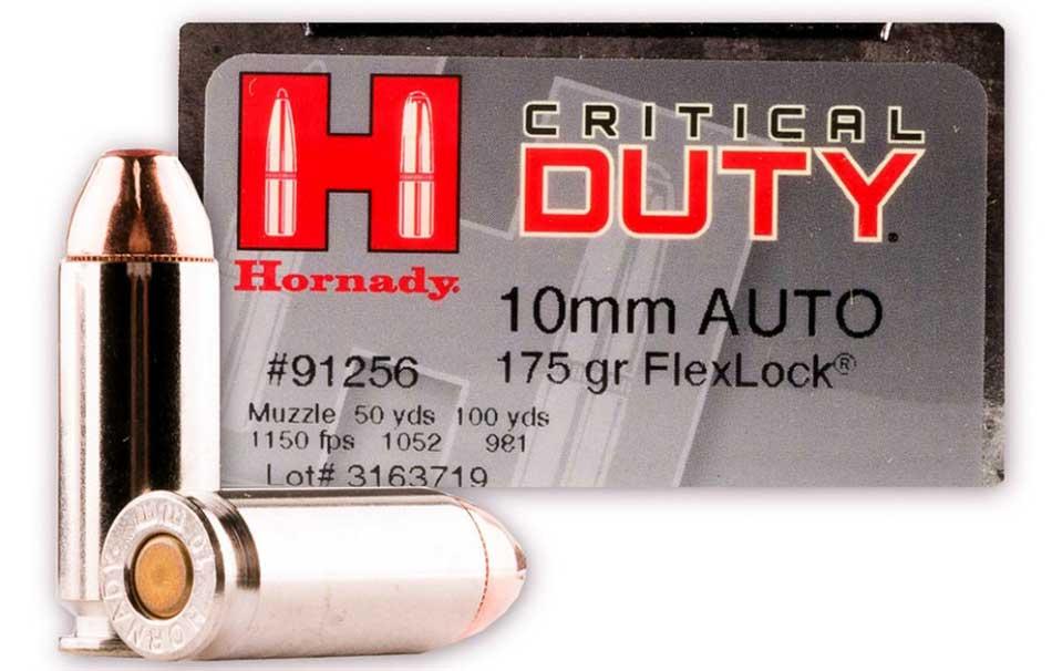 Hornady Critical Duty 10mm Ammunition Review