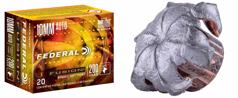 Federal Fusion 10mm Hunting Ammo