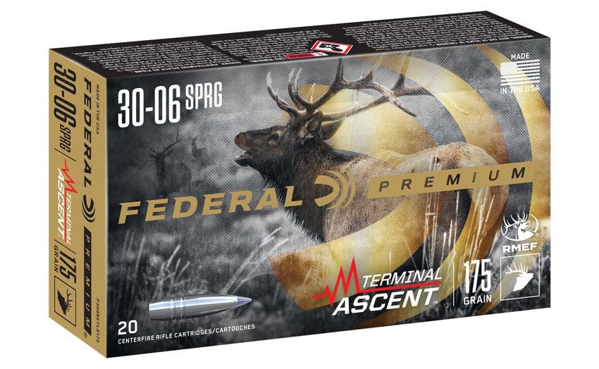 Federal Terminal Ascent Long Range Hunting Ammunition