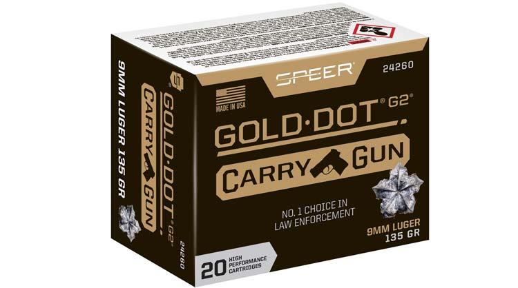Speer Carry Gun Ammunition