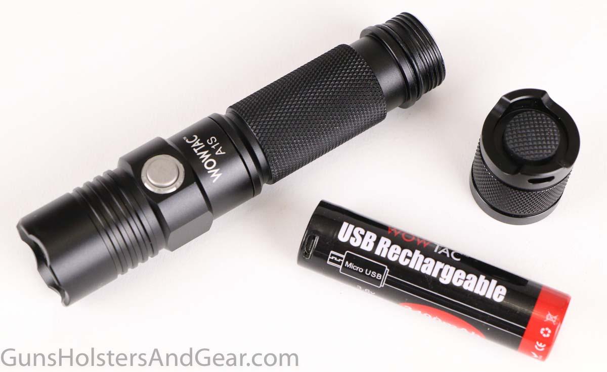 Wowtac A1S Flashlight Parts