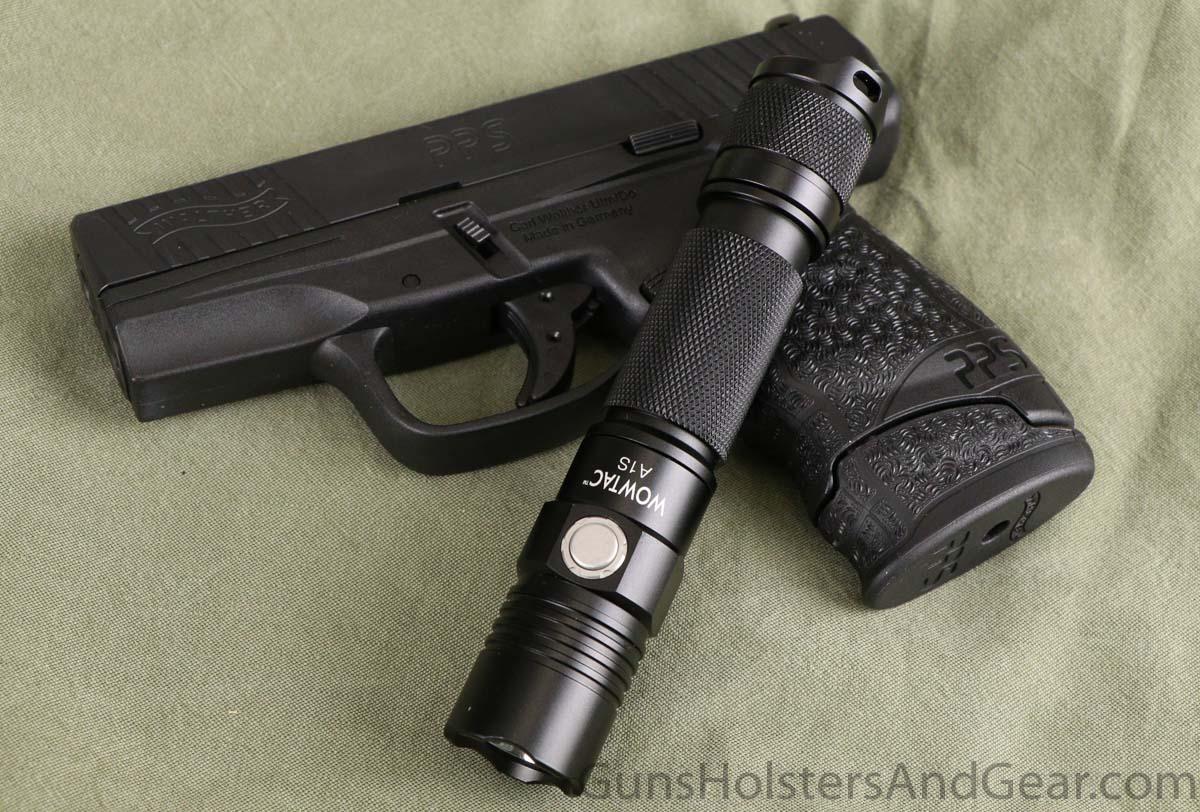 Wowtac A1S Tactical Flashlight for Self Defense