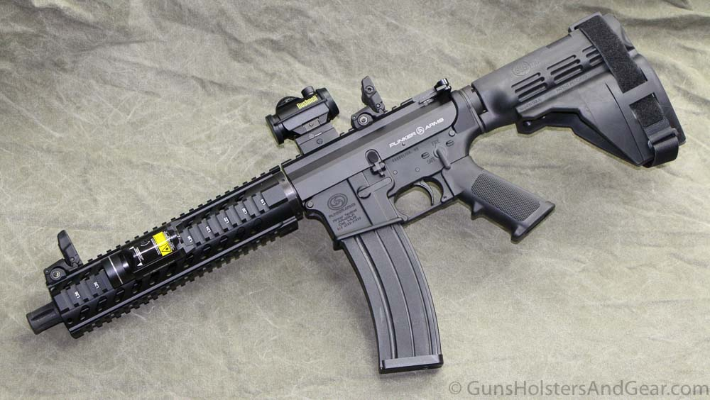 Review of the Plinker Arms AR Pistol in 22LR