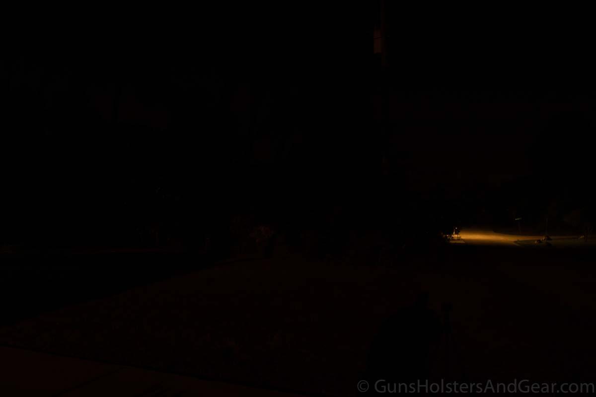 Night Testing 21 Yards Control
