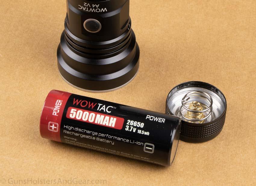 Wowtac A4 V2 26650 battery