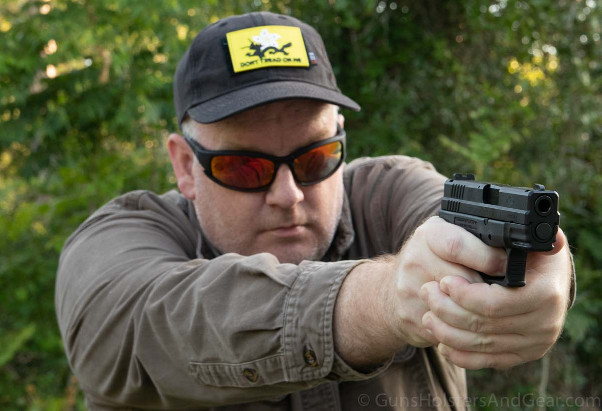 Shooting the Springfield XD Subcompact Legacy Series Pistol