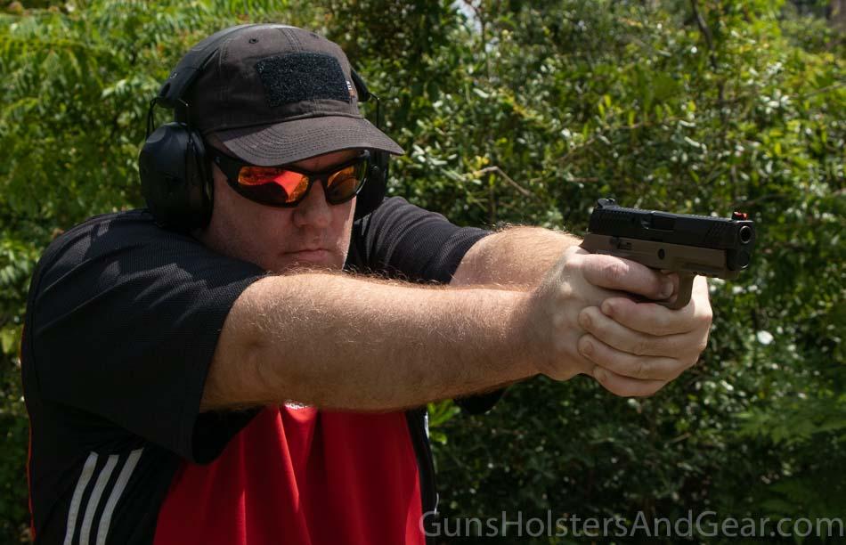 Shooting the Wilson Combat P320 Carry Handgun