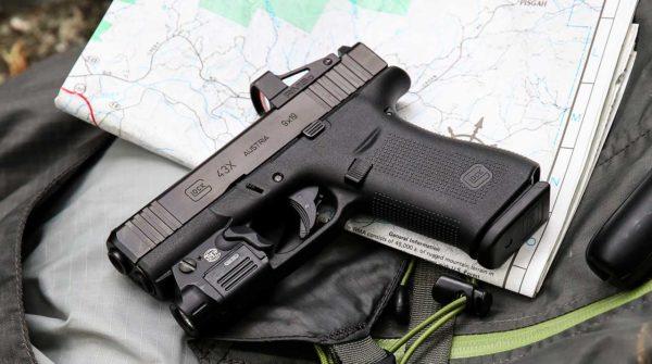 Red Dot Sight on Glock 43X MOS
